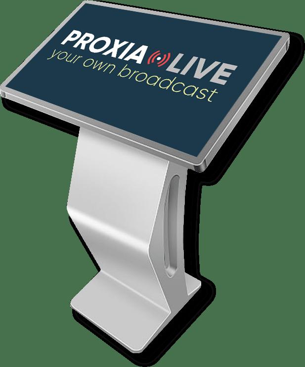 Infopanel s dotykovou obrazovkou | Proxia.Live